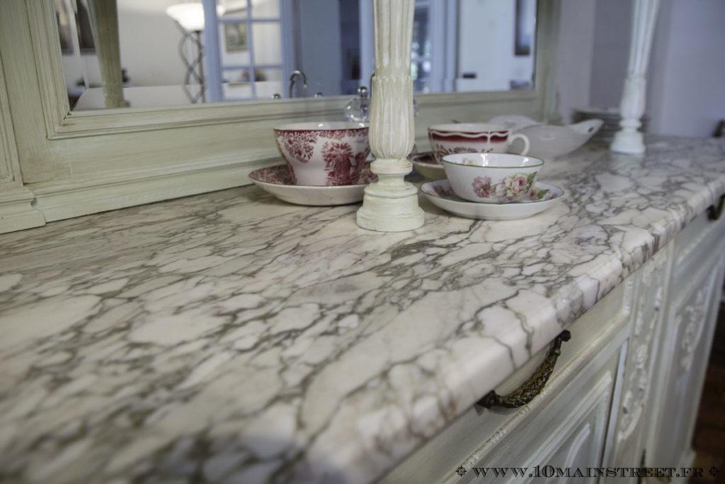 Plateau en marbre