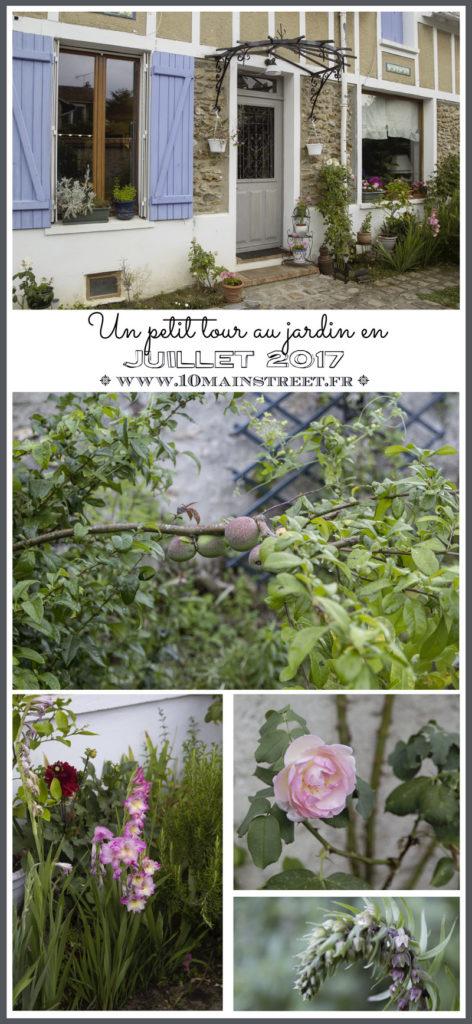 Un petit tour au jardin en juillet 2017 | www.10mainstreet.fr