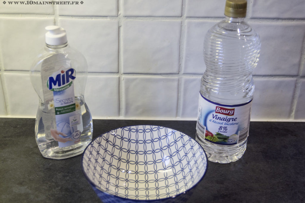 Recette miracle au vinaigre et au liquide vaisselle