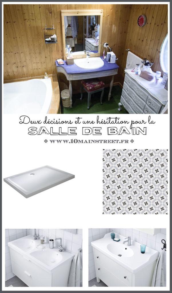 2 décisions et une hésitation pour la rénovation de la salle de bain | www.10mainstreet.fr
