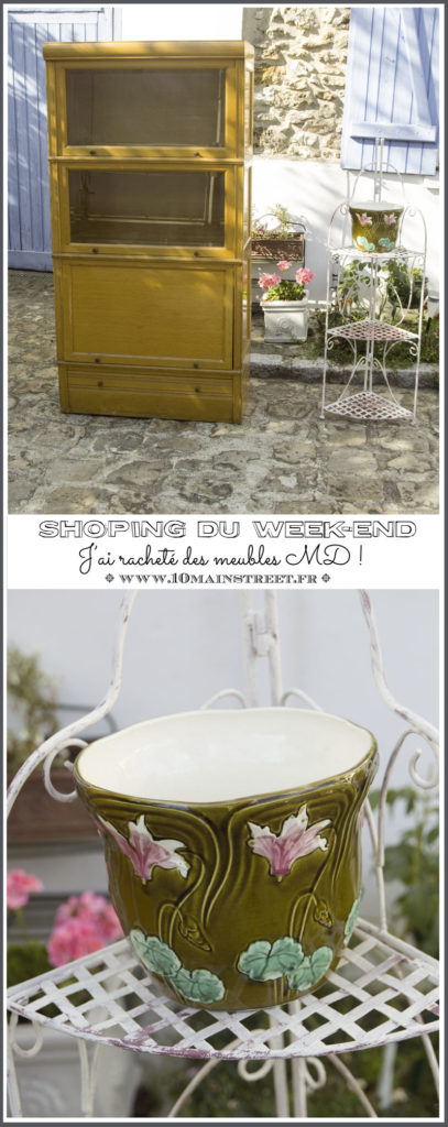 Shopping du week-end : j'ai racheté des meubles MD ! www.10mainstreet.fr