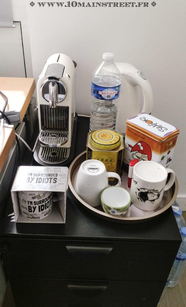 Nécessaire à café et à thé