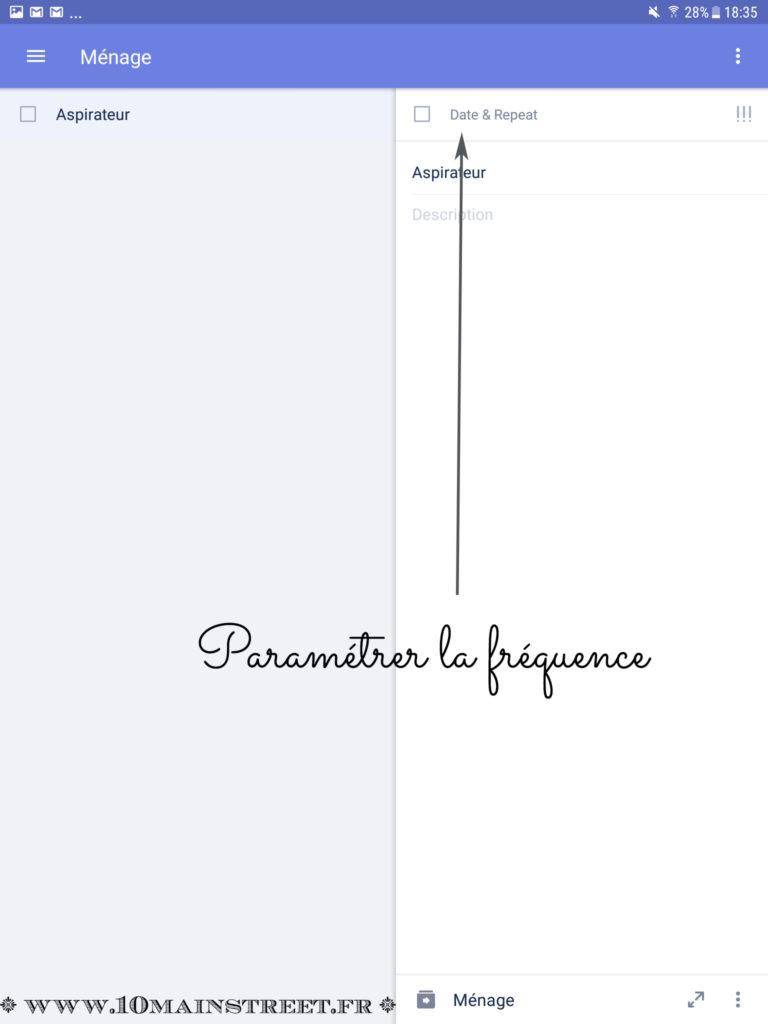 Paramètre de périodicité
