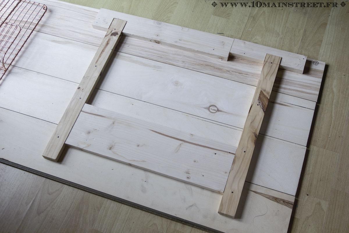 Fabrication D Un Classeur Mural Projets Pour Le Bureau # Fabriquer Un Classeur En Bois