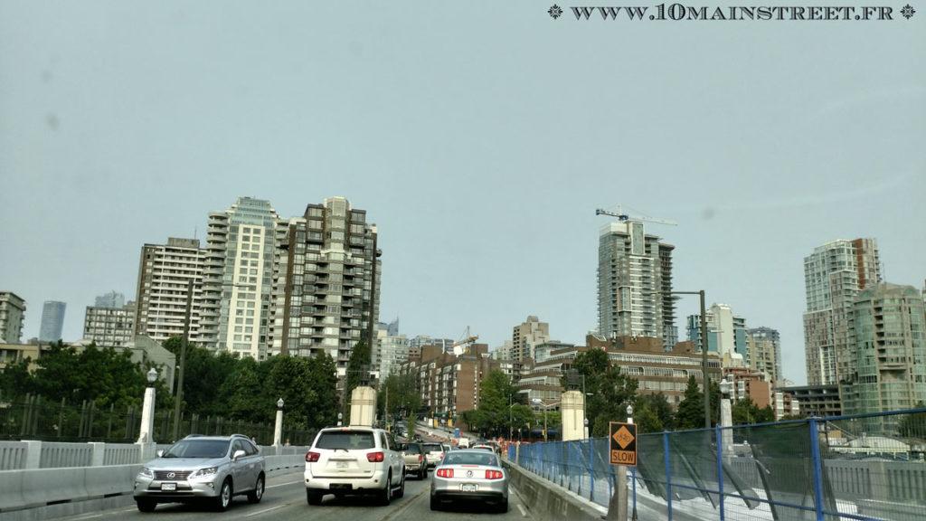 Manque de charme de Vancouver City