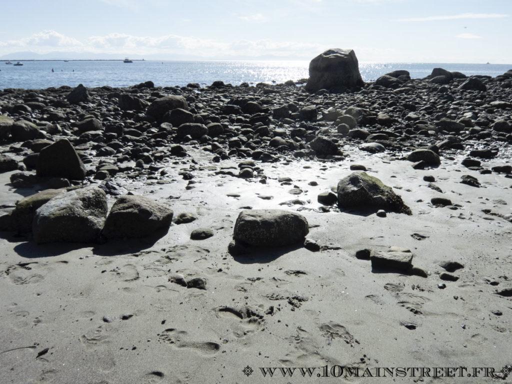 Wreck beach à Vancouver