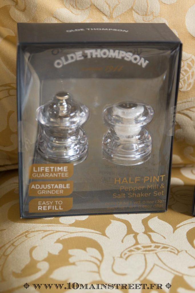 Mini ensemble sel & poivre Olde Thompson