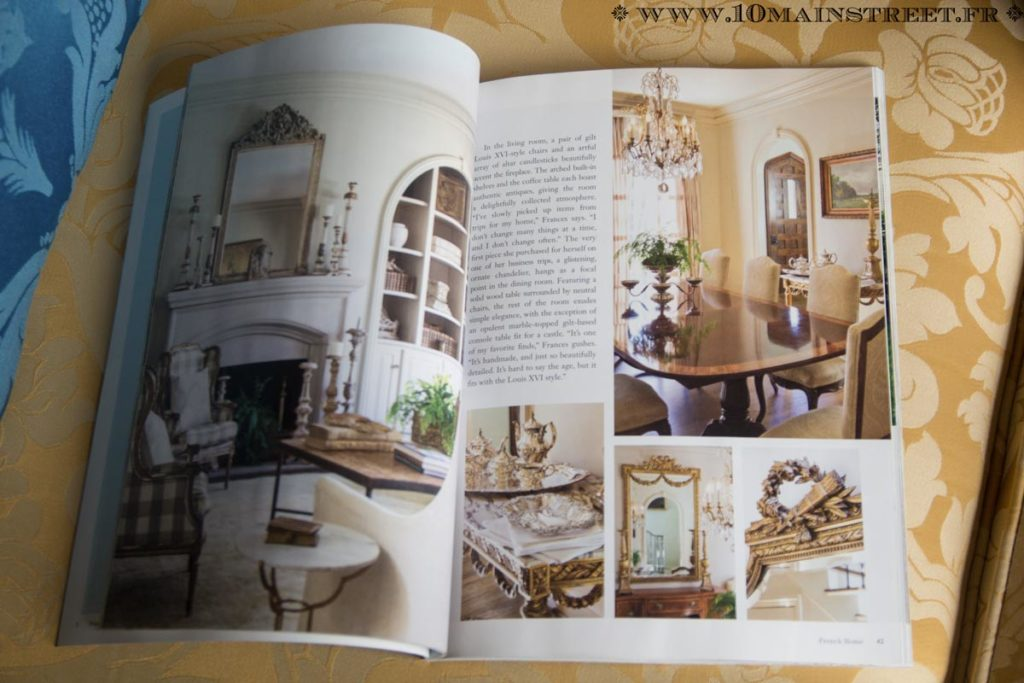 Pages intérieures du magazine French Home