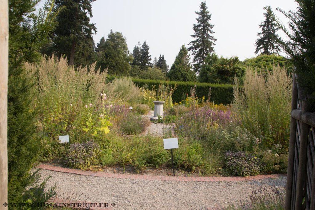 Jardin aromatique au jardin botanique de l'UBC