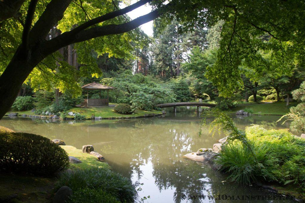 L'entrée du Nitobe Memorial Garden