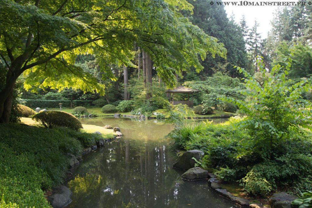 Pagode du Nitobe Memorial garden