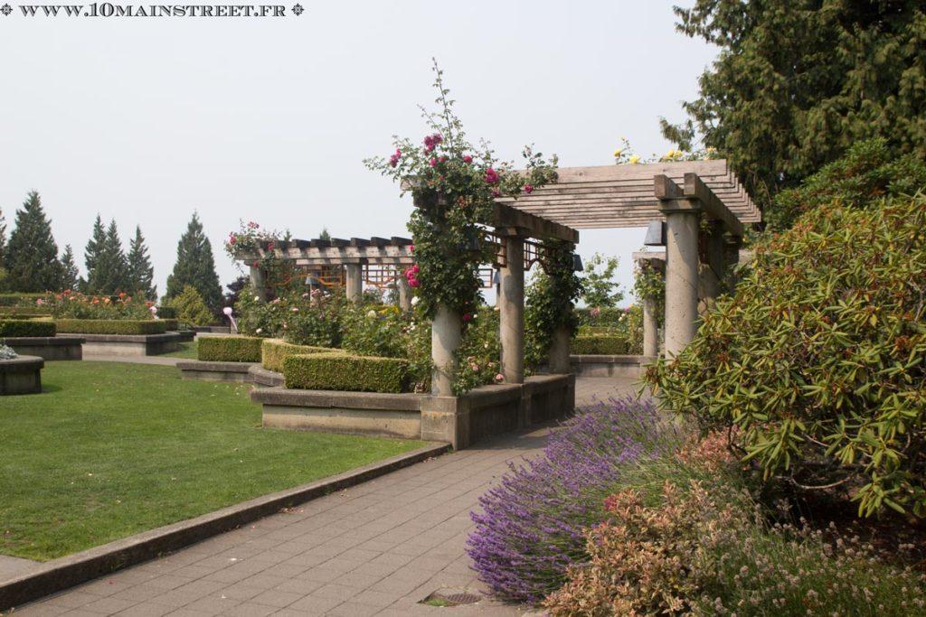 Rose garden de l'UBC