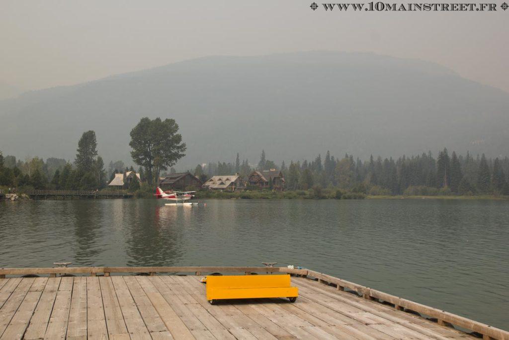 Hydravion en attente sur le Green Lake