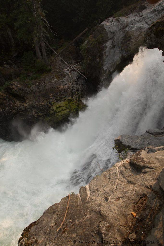 Violentes cascades de Nairn Falls