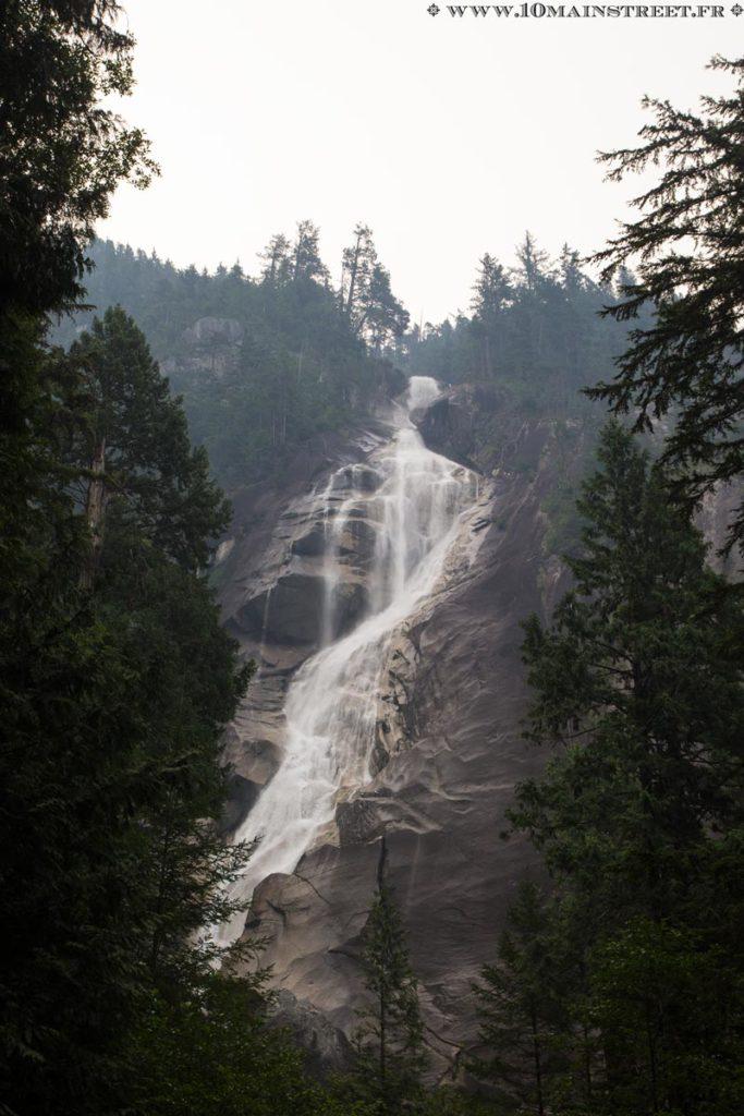 Shannon Falls à Squamish