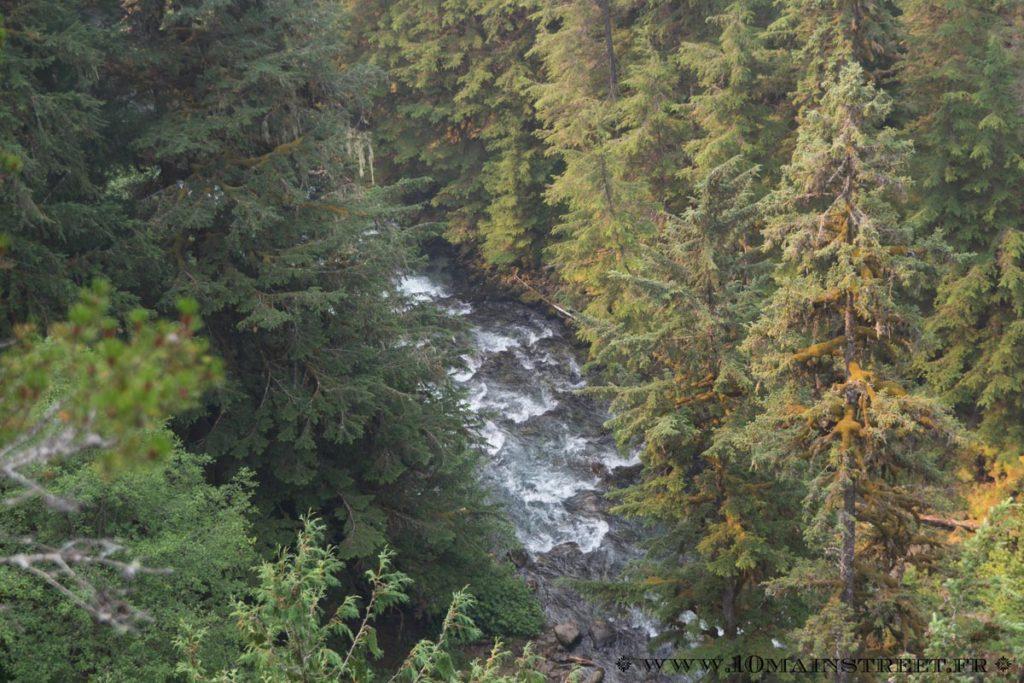 Le bas des Brandywine Falls