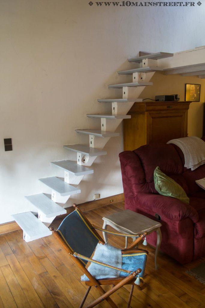 L'escalier vitrifié