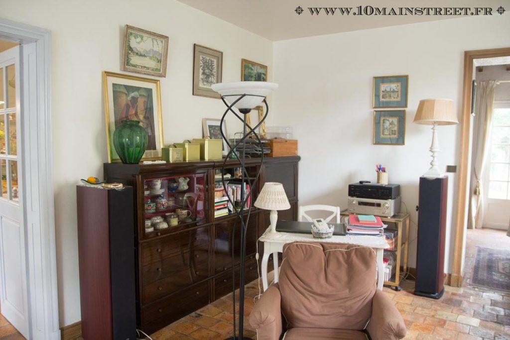 Le salon, côté bureau