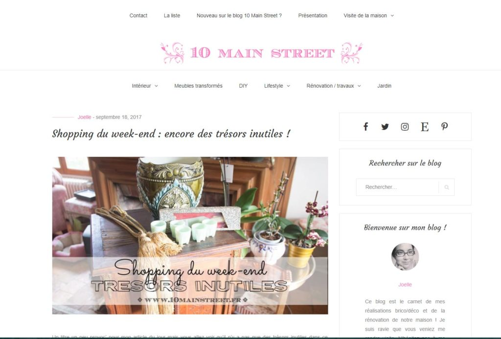 Nouveau design du blog