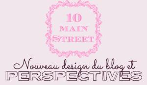 Nouveau design du blog et perspectives