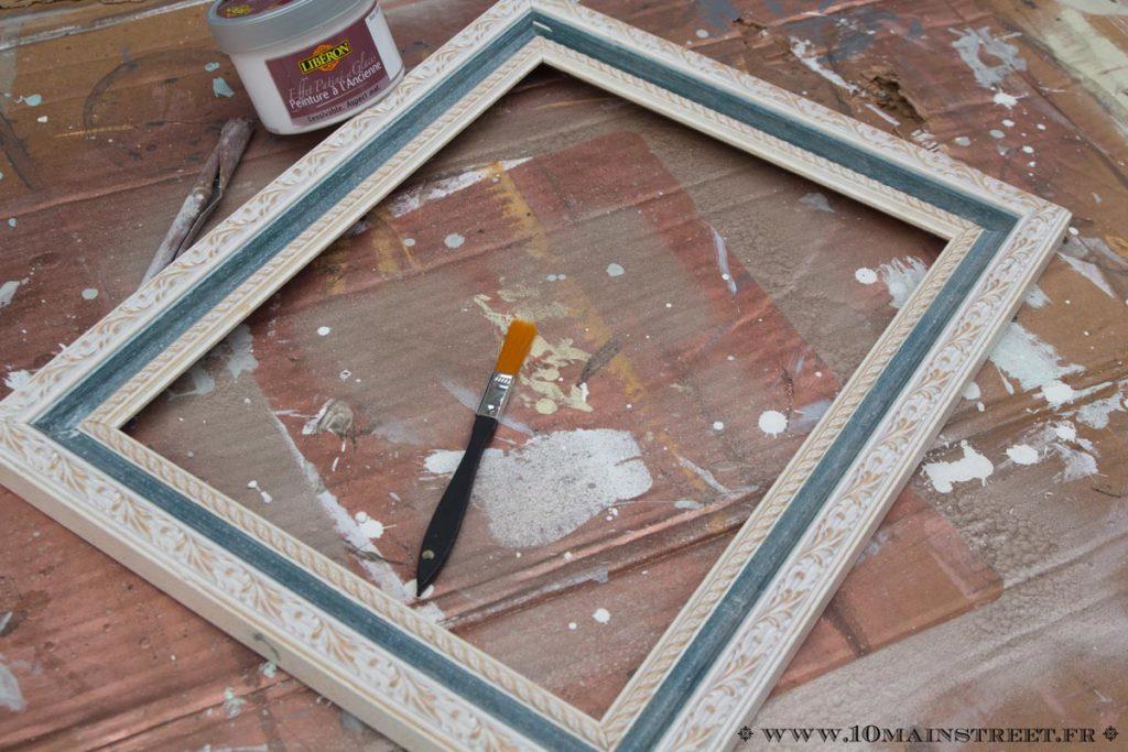 Préparation du cadre à retaper