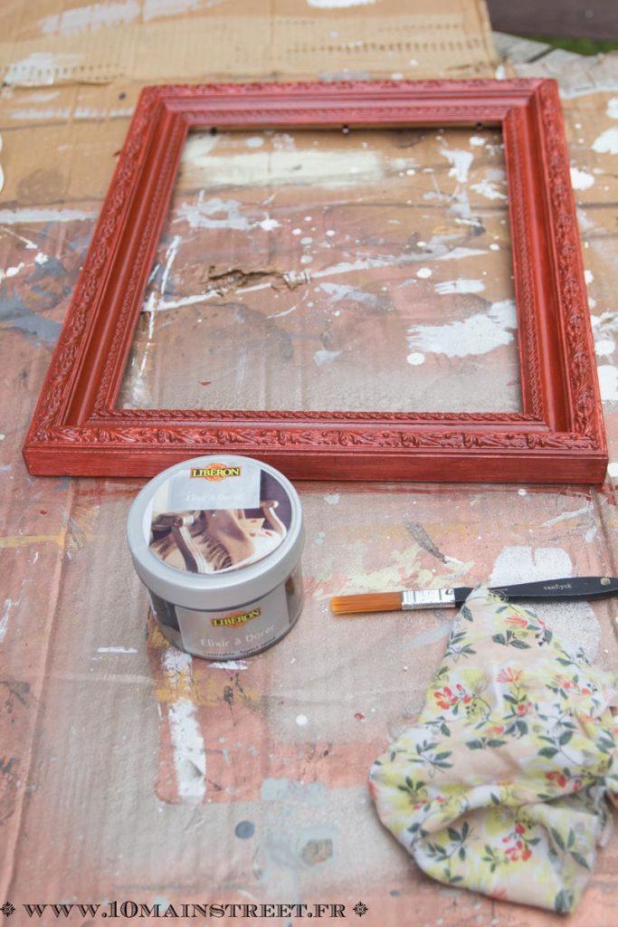 2 couches de peinture de fond