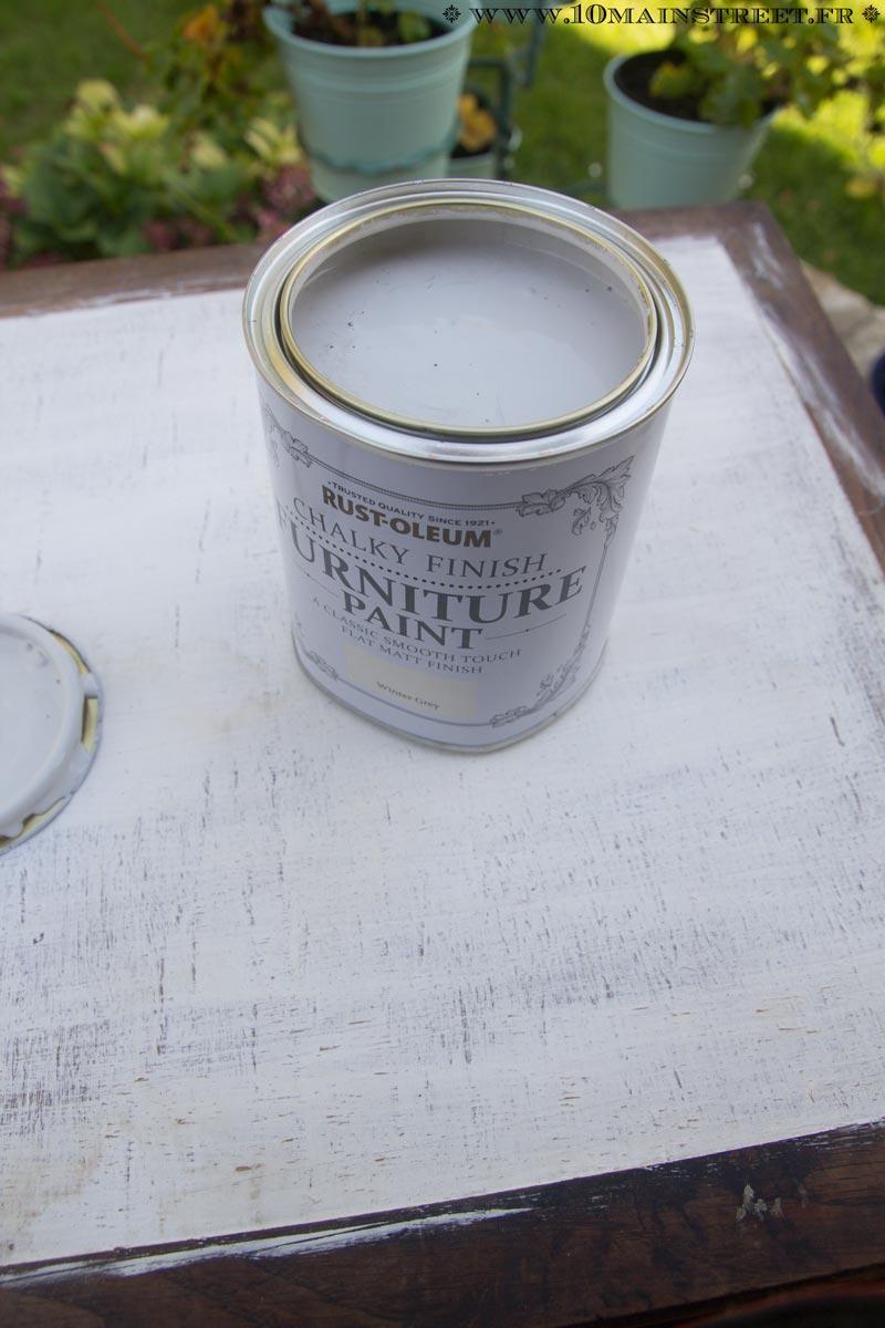 J 39 ai test la peinture la craie rust oleum et c 39 est bluffant - Peinture rust oleum ...