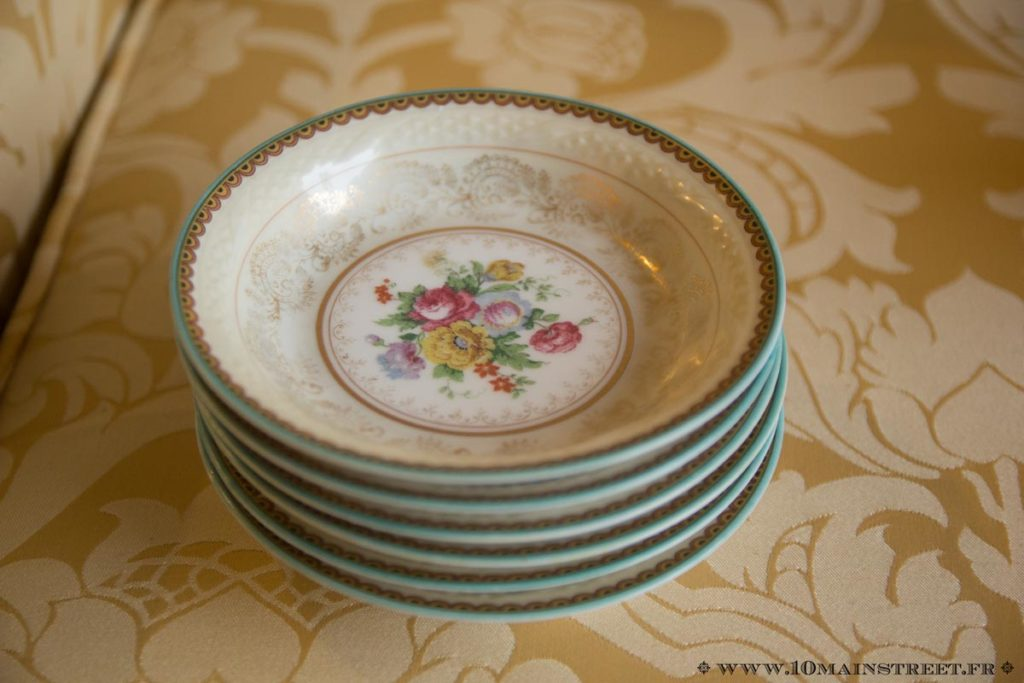 Coupelles en porcelaine anciennes