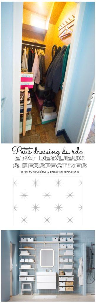 Petit dressing du rez-de-chaussée : état des lieux & perspectives