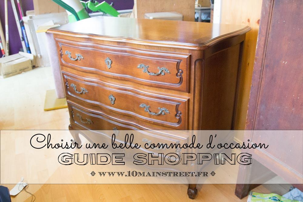 guide shopping choisir une commode d 39 occasion de bonne qualit. Black Bedroom Furniture Sets. Home Design Ideas