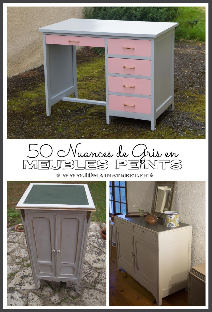 50 nuances de gris en meubles peints possibilit s infinies. Black Bedroom Furniture Sets. Home Design Ideas