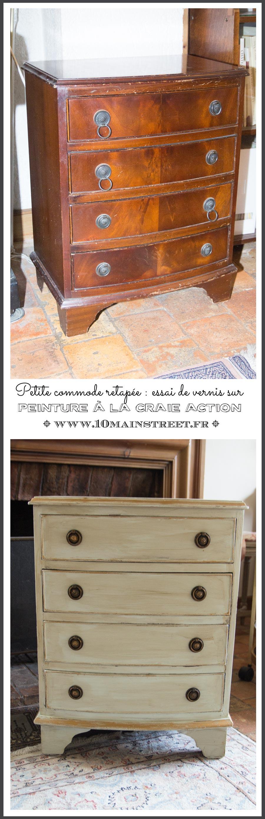 essai de vernis sur peinture la craie action petite. Black Bedroom Furniture Sets. Home Design Ideas