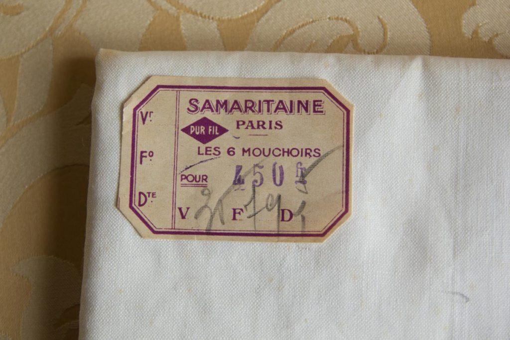 Etiquette Samaritaine