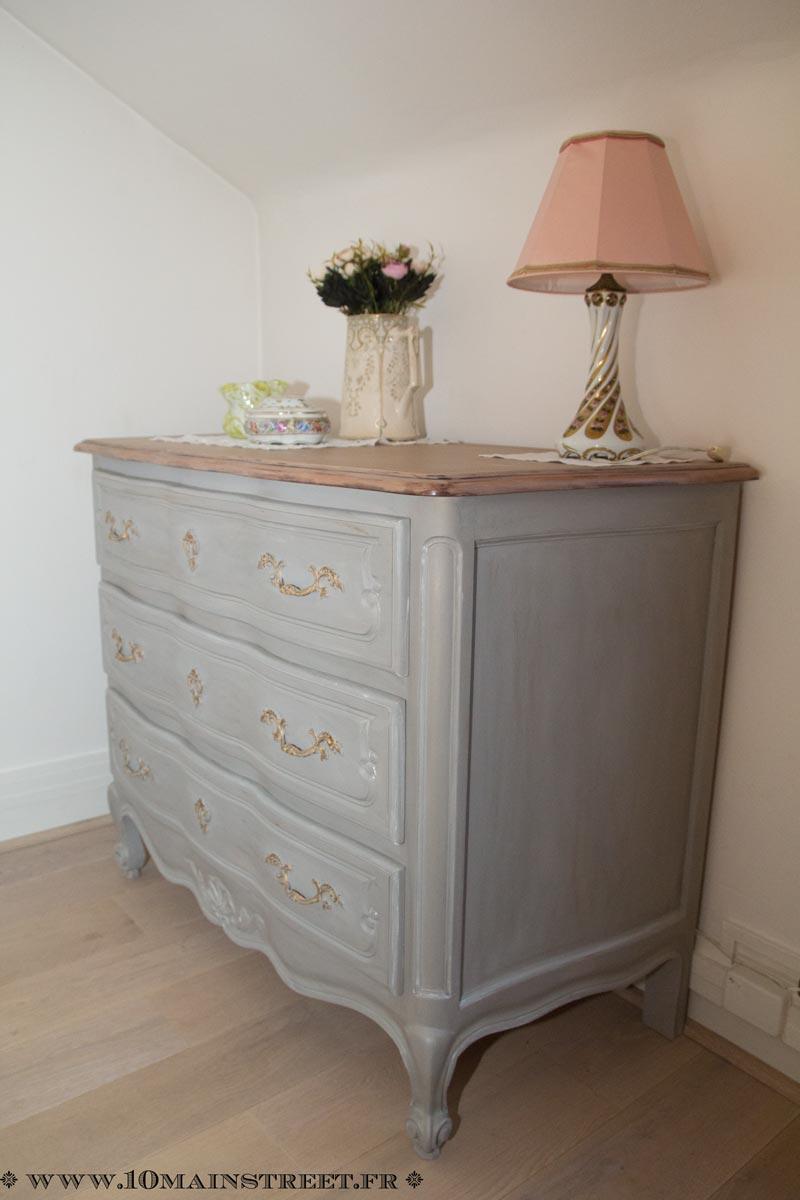 comment customiser une commode finest laisser scher puis contempler votre travail vous with. Black Bedroom Furniture Sets. Home Design Ideas