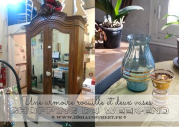Shopping du week-end : une armoire rocaille et deux vases