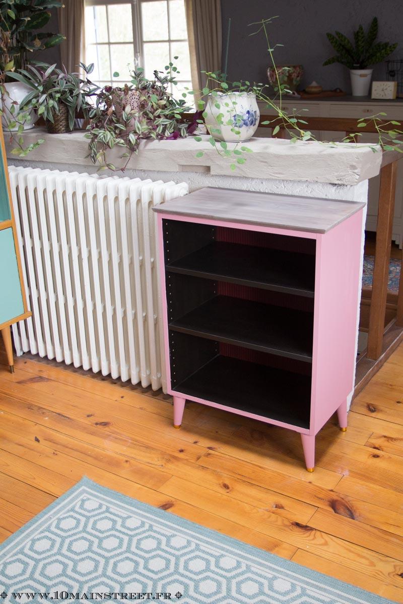 fabriquer un meuble scandinave avec un caisson de cuisine ikea. Black Bedroom Furniture Sets. Home Design Ideas