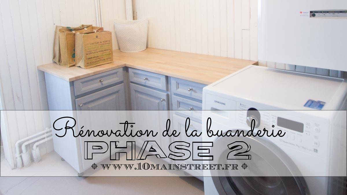 Rénovation de la buanderie : phase 2