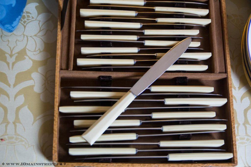 Set complet de 2 x 12 couteaux