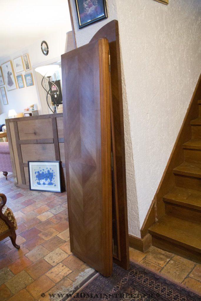 Ne pas remonter l'armoire avant de la peindre