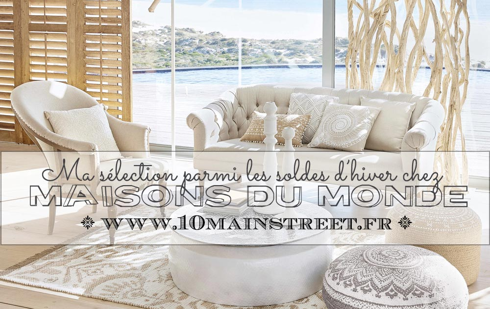 ma s lection parmi les soldes d 39 hiver chez maisons du monde. Black Bedroom Furniture Sets. Home Design Ideas