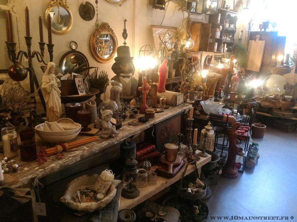 La boutique de l'Artisane Bucolique à Villennes-sur-Seine