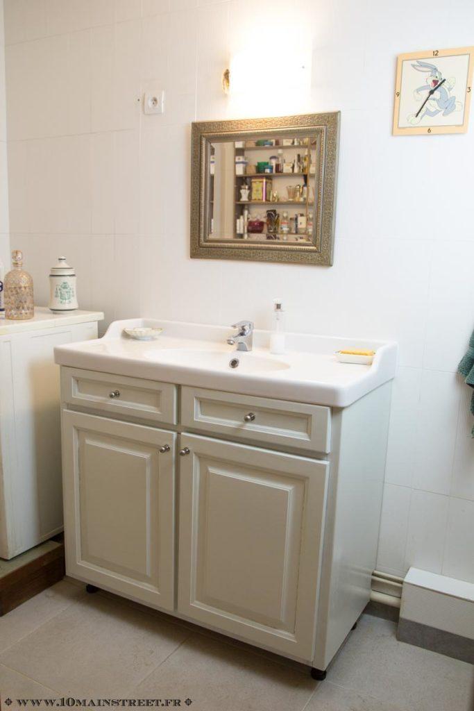 Nouveau meuble de salle de bain