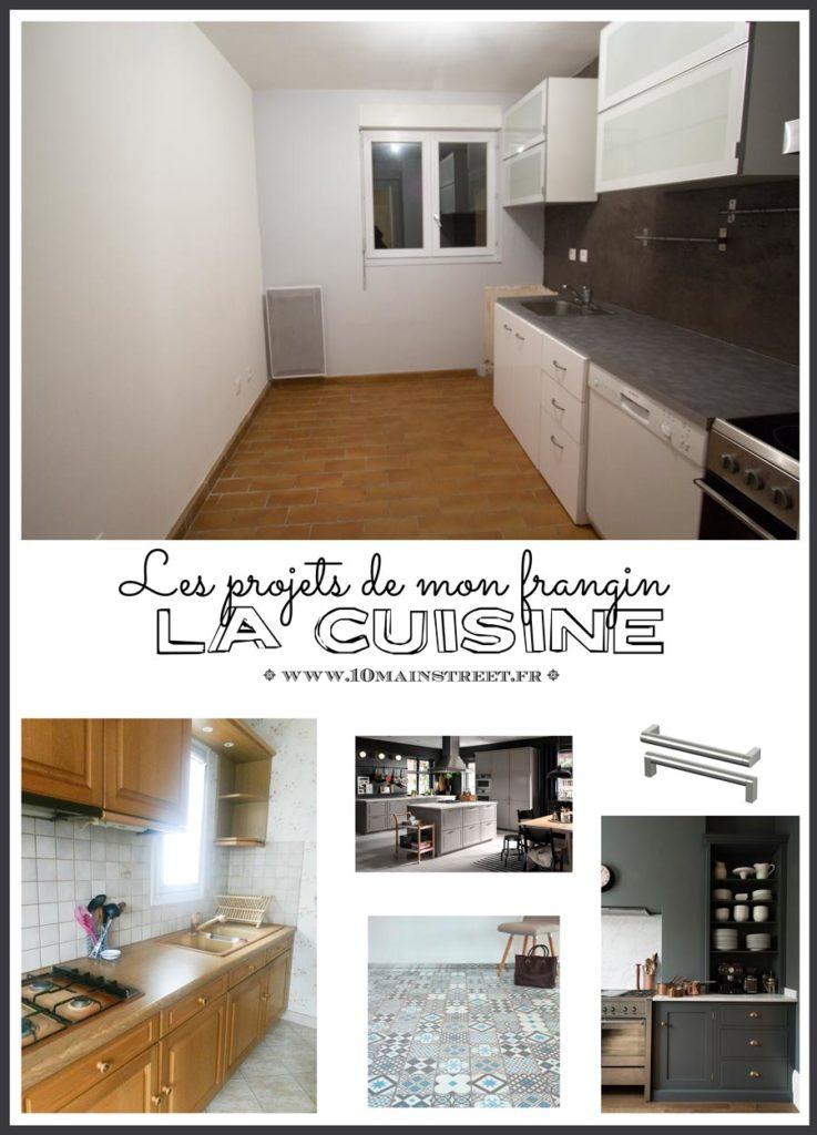 Le projet cuisine de mon frère | kitchen project | upcycling