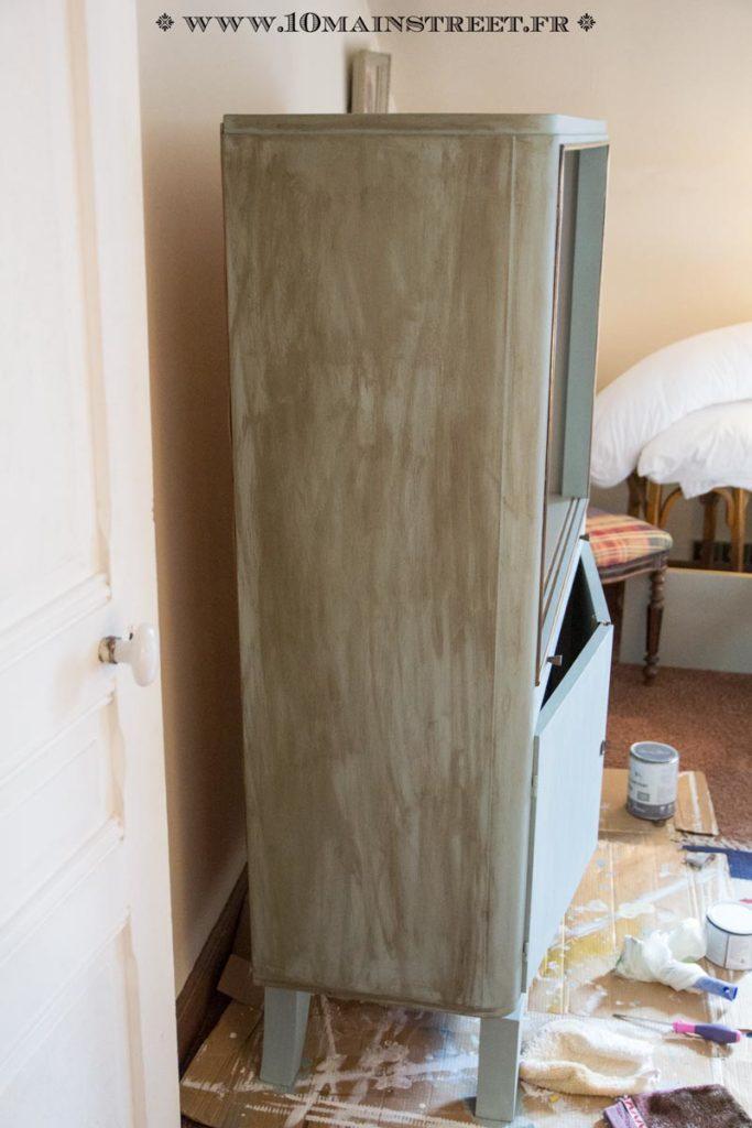 Cire brune Annie Sloan très pigmentée !