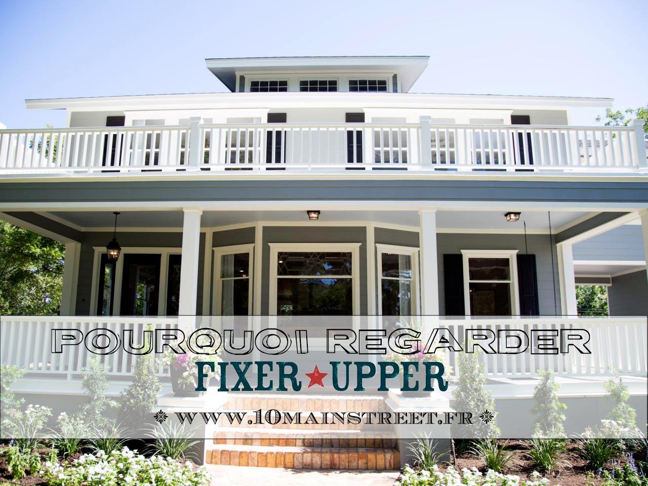 Pourquoi regarder Fixer Upper - Total Renovation - sur TFX ?