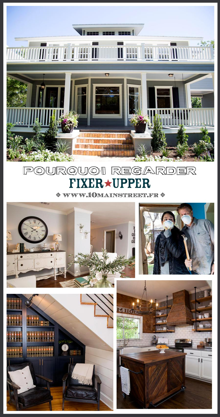 pourquoi regarder fixer upper total renovation sur tfx. Black Bedroom Furniture Sets. Home Design Ideas