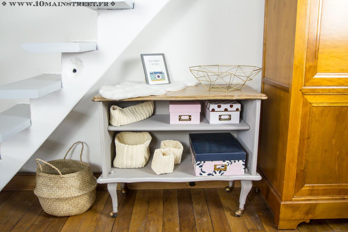 un vieux bar rustique devient un meuble de rangement tr s chic. Black Bedroom Furniture Sets. Home Design Ideas