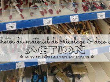 Acheter du matériel chez Action : quelques conseils