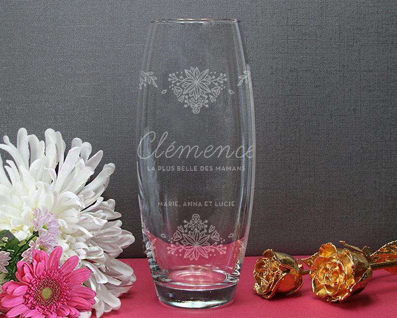 Vase à personnaliser Cadeaux.com