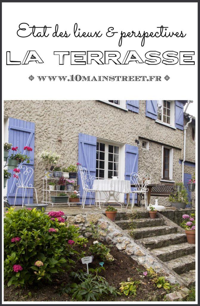 La terrasse : état des lieux & perspectives | jardin, store, véranda, plantes, BBQ
